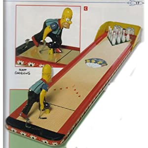 Simpsons Bowling tin toy