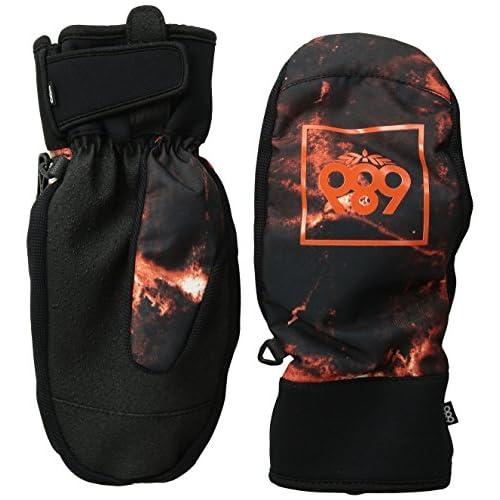 【686】シックスエイトシックス2015-2016/Mountain Mitt メンズスノーミット ミトン スノーグローブ Burnt Orange Tie Dye L