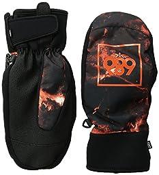 686 Men\'s Mountain Mitt, Burnt Orange Tie Dye, Large