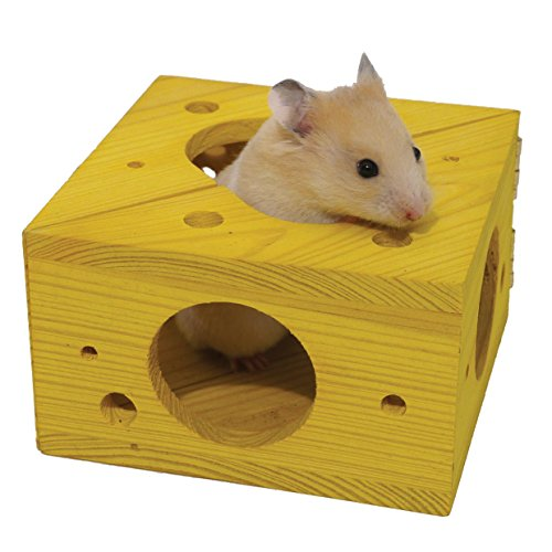 Sleep 'n' Play Cheese – Hamster & Small Animal Toy 51sfGyFGfcL