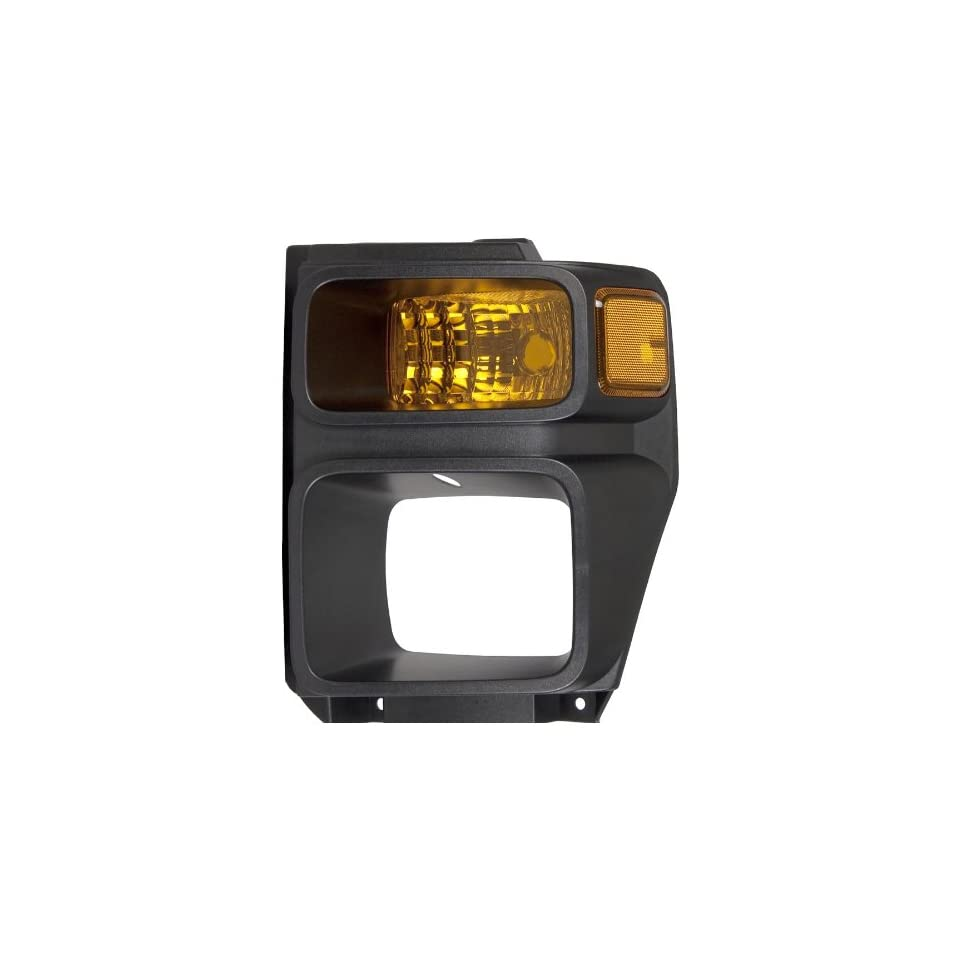 OE Replacement Ford Super Duty Driver Side Parklight Lens/Housing (Partslink Number FO2526106)