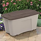 Suncast b501824 Outdoor Storage Bin (3 Pack), 50 gallon