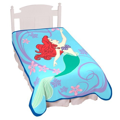 Disney's Little Mermaid Simply Beautiful Blanket