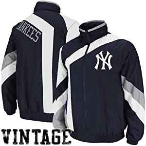 New York Yankees One-On-One Windbreaker by Mitchell & Ness L by Mitchell & Ness