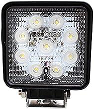 toolsisland (ツールズアイランド) LEDワークライト(作業灯) 27W(12V-24V対応) 広角タイプ トラック用品、車外灯 TD4009
