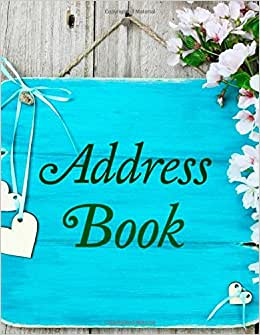 Address Book (Beautiful Floral Designs- Drawings ) (Volume 4)