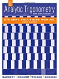 img - for Analytic Trigonometry with Applications, Student Solutions Manual book / textbook / text book