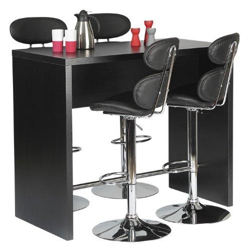FTG Bar Table In Black Ash- Sleek, Modern, And Stylish
