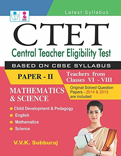 CTET Exam Book (Paper -II), 2015 Ed,. Image
