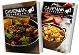 img - for Paleo Pressure Cooker Recipes and Paleo Slow Cooker Recipes: 2 Book Combo (Caveman Cookbooks) book / textbook / text book