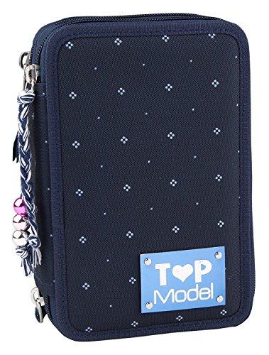 TOPModel 7994 - 3-Fach Federtasche, mehrfarbig