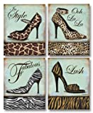Fashion Shoe - mini, Mini Prints Art Print Poster by Todd Williams, 8 x 10 set of 4