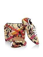 FOLDY Zapatos de cordones (Beige)