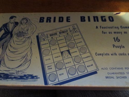 Bride Bingo -- Fascinating Game for as Many as 16 People - 1