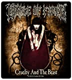 Cradle Of Filth Cruelty and the Beast Official new decal sticker (11cm x 10cm)