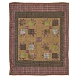 VHC Brands Canavar Ridge Quilted Throw 60x50
