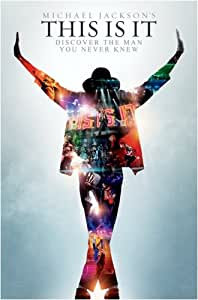 Michael Jackson's This Is It - Movie Poster Full Size Print Poster Print, 22x34 Poster Print, 22x34 Poster Print, 22x34