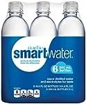 smartwater (6 Count, 16.9 Fl Oz Each)