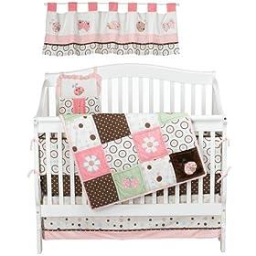 Perfect NoJo Ladybug Lullaby Piece Crib Set