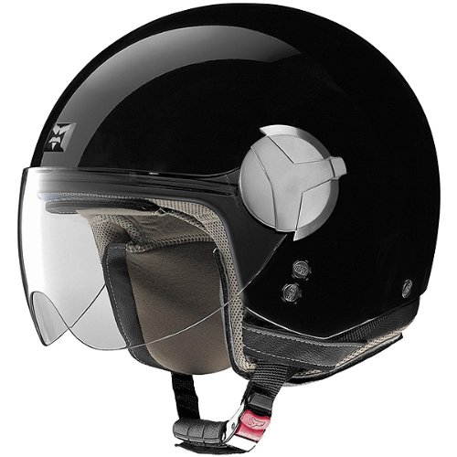 Nolan Solid N20 Harley Motorcycle Helmet – Outlaw Black / Medium