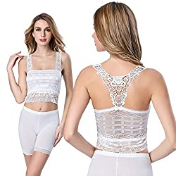New Sexy Women's Lace Floral Bra Bustier Crop Top Tank