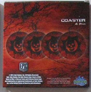 Gears of War 3 - Pack Coaster Set