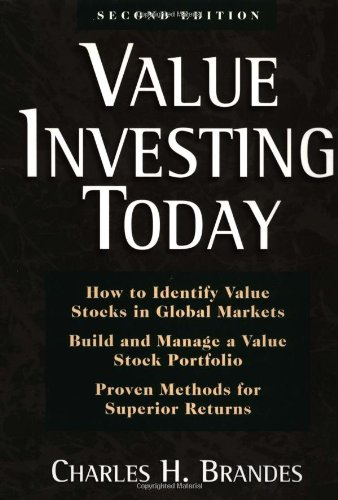 Value Investing Today, Brandes, Charles H.