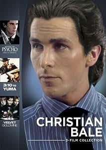 Christian Bale 3-Film Collection (American Psycho/Velvet Goldmine/3:10 To Yuma)