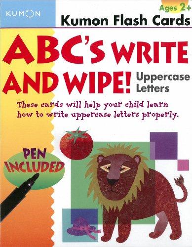 abcs-uppercase-write-wipe-kumon-flash-cards