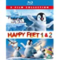Happy Feet / Happy Feet Two [Blu-ray] [Region Free]