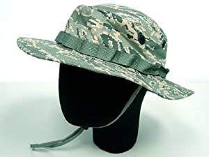 MIL-SPEC Boonie Hat Cap US Air Force Digital ABU Camo