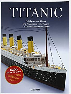 Cover Build your own Titanic. Ediz. tedesca, inglese e francese