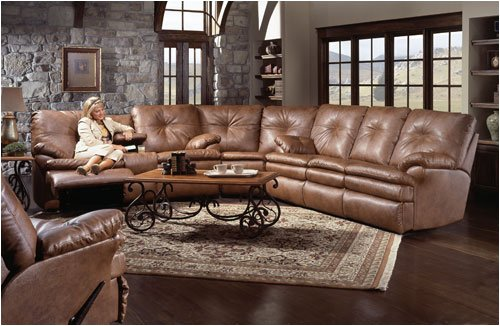 Furniture Store Southern Motion 854 31 Raymond Leather Reclining Sofa Sectional