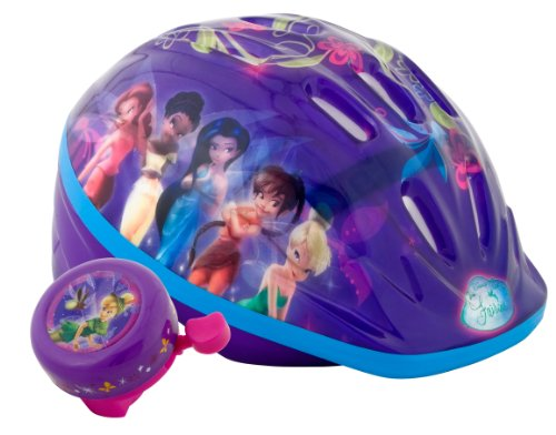 Fairies Lighted Unisex-Child Microshell Helmet (Purple)