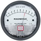 Dwyer® Magnehelic® Differential Pressure Gage, 2304, Zero Center Range: 2-0-2