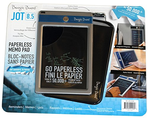 """Boogie Board Jot 8.5"""" Lcd Ewriter - Electronic Notepad (Blue Accent)"""