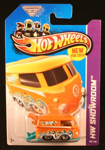 2013 Hot Wheels Hw Showroom 169/250 - Volkswagen Kool Kombi - Orange - 1