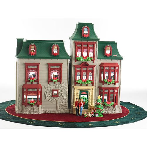 Exclusive Fisher-Price Loving Family Home for the Holidays Dollhouse