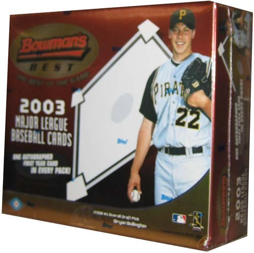 2003 Bowman's Best Baseball Card Unopened Hobby Box