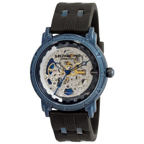 Men 39 s watches stuhrling original men 39 s classic winchester cavalier automatic for Classic skeleton watch