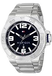 Tommy Hilfiger Men's 1791038 Analog Display Quartz Silver Watch