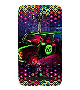 PRINTVISA Abstract Car Case Cover for Asus Zenfone Go ZC500TG