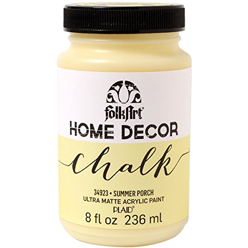 Plaid:Craft Folk Art Home Decor Chalk Paint, 8-Ounce, Summer Porch