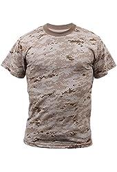 Men's Desert Digital Camouflage T-Shirt