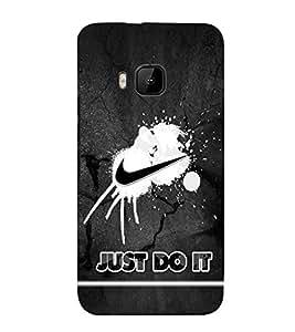 EPICCASE Nike Symbol Mobile Back Case Cover For HTC One M9 (Designer Case)