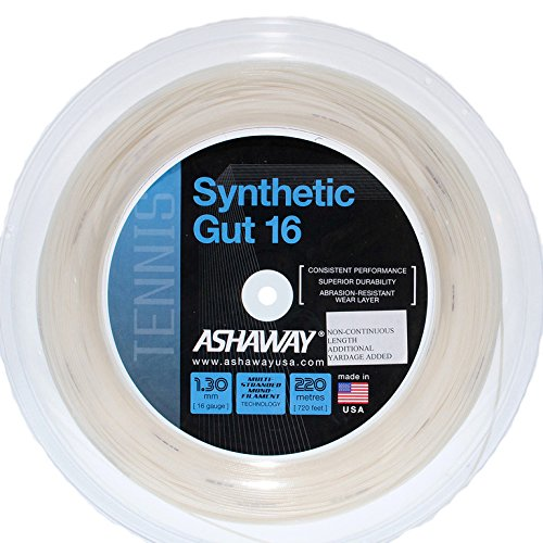 Ashaway SYNTHETIC GUT 16 Tennis String Reel happy gut