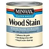 Minwax 618604444 White Wash Pickling Stain, quart (Color: White, Tamaño: 1 Quart)