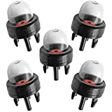 5pcs General Snap-In Primer Bulb for Stihl / Weed Eater / McCulloch / Ryobi Echo