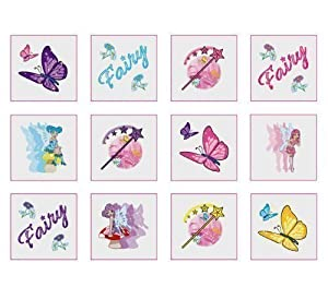 Fairy Tattoos - 24 Supplied - Great Party Bags Fillers
