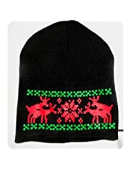 Humping Reindeer Beanie Sweater Christmas